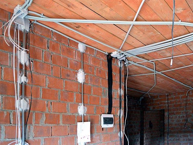 Монтаж электропроводки в Мозыре