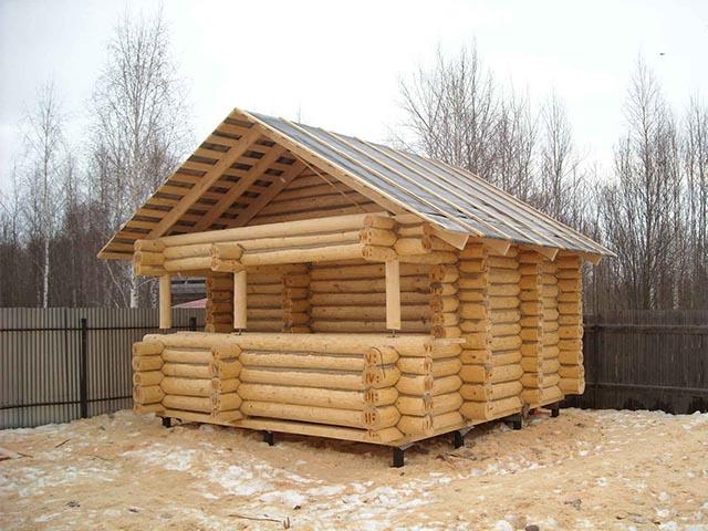 Готовые бани из сруба Беларусь