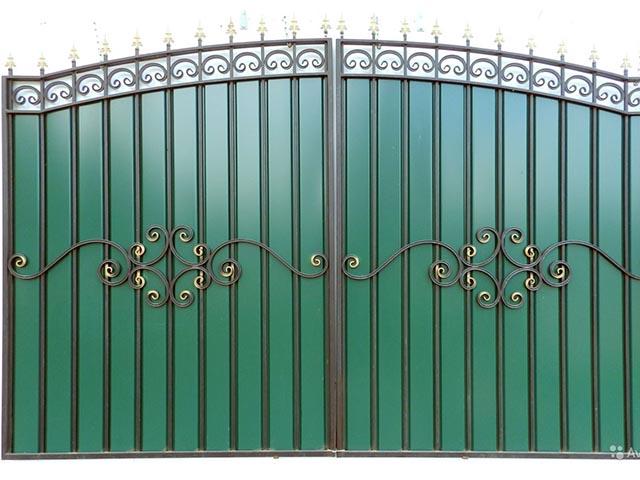 Комбинированные ворота в Мозыре