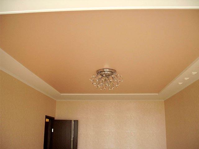 Матовый натяжной потолок в Мозыре