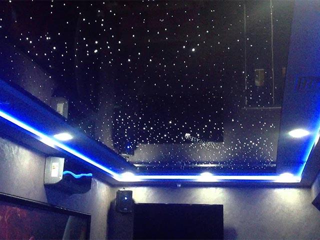 Натяжной потолок звёздное небо