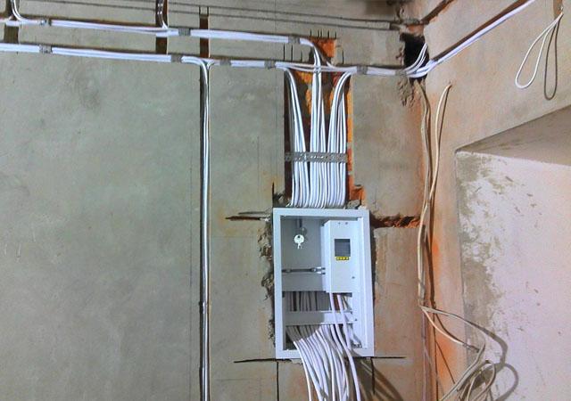 Подключение электрики в Мозыре