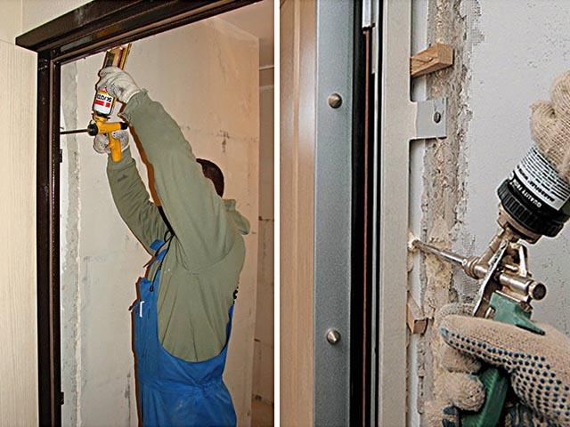 Установка входных и межкомнатных дверей в Мозыре