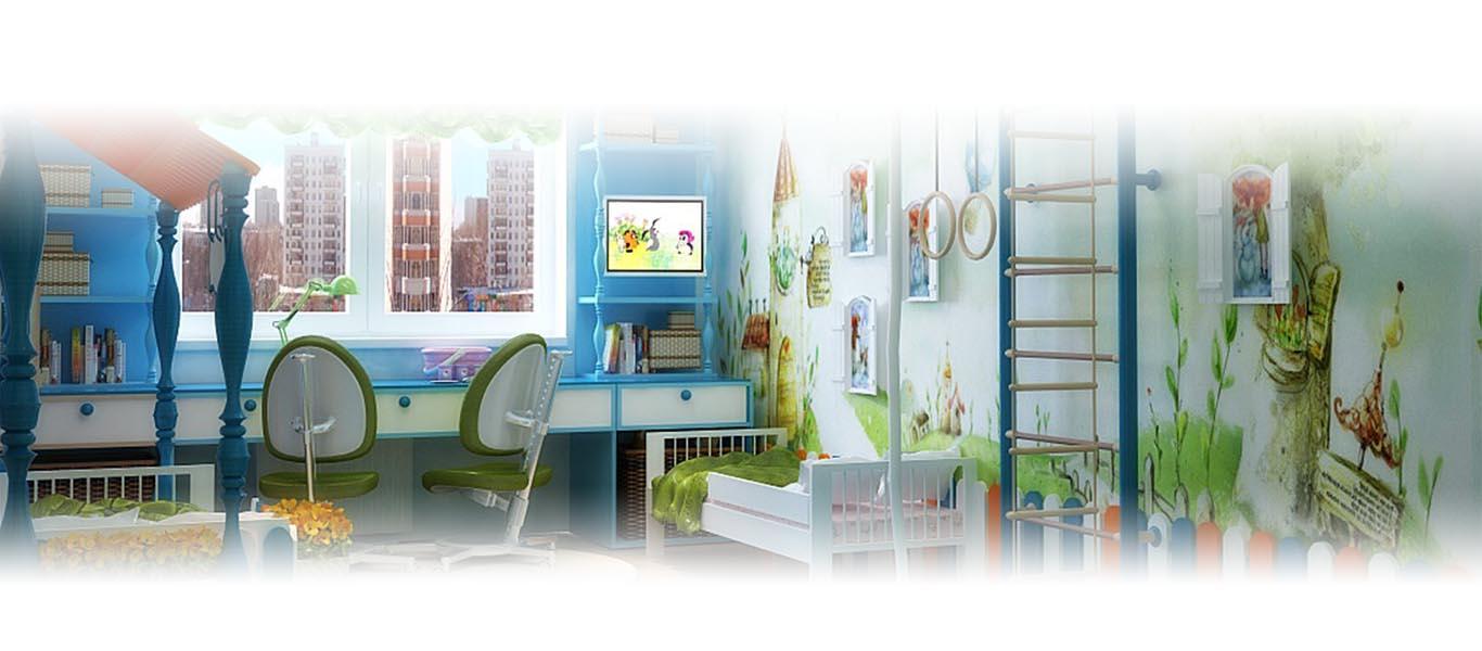 Детские комнаты под заказ в Мозыре