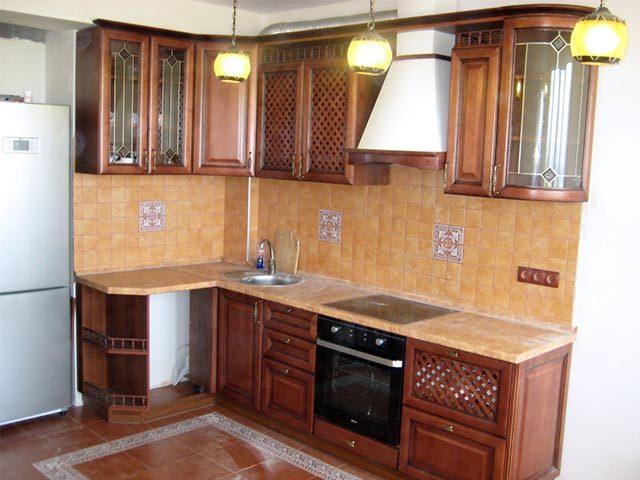 Классические кухни из массива в Мозыре