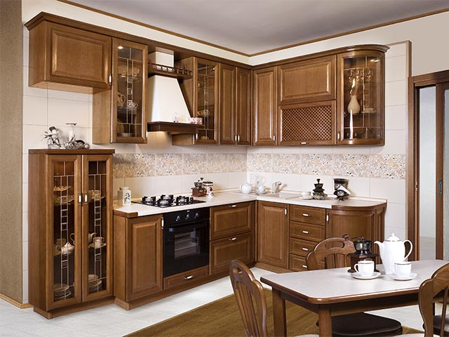 Кухни из массива фото в Мозыре