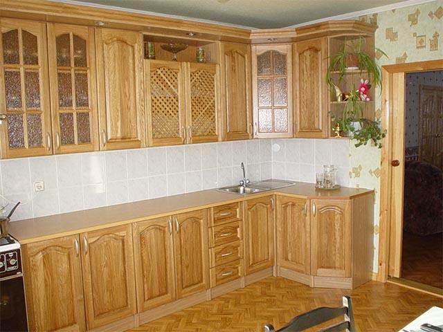 Кухни массив светлые в Мозыре