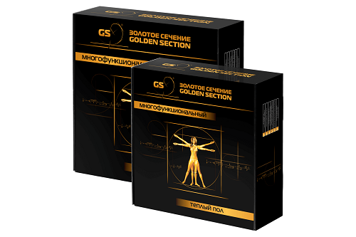 Универсальный кабель теплый пол Золотое сечение