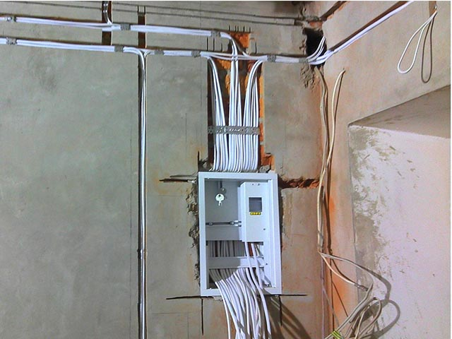 Монтаж электрики в Мозыре