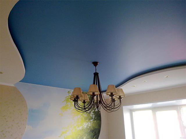 Матовый потолок в Мозыре
