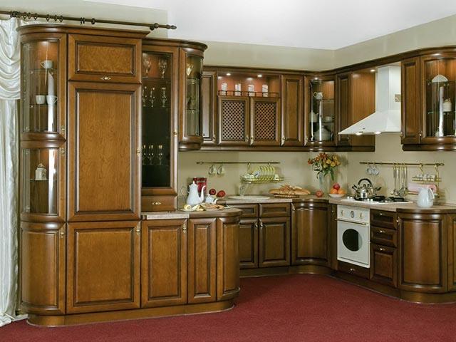 Купить кухню из массива в РБ