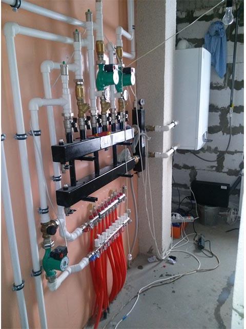 Работы по монтажу отопления в Мозыре