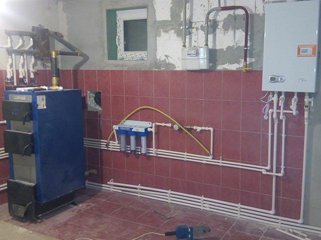 Установка отопительной системы в Мозыре