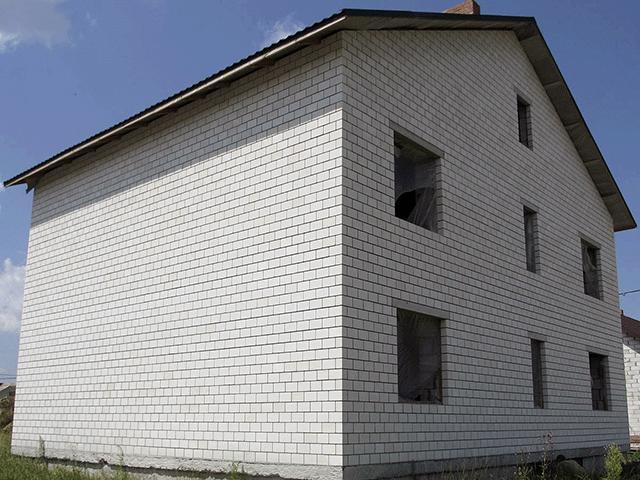 Строительство частного кирпичного дома